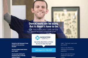 Dentist Landing Page